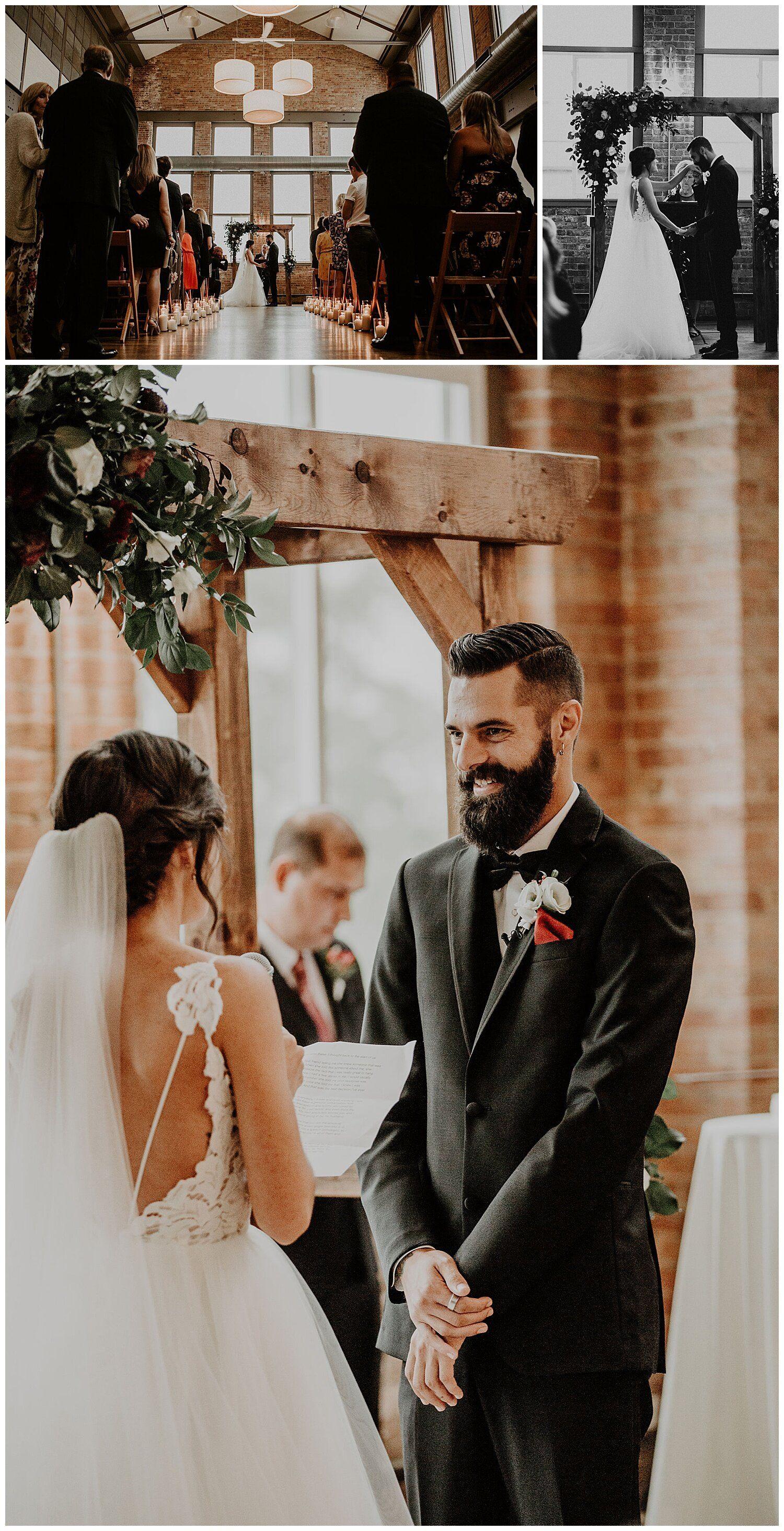 Chicago Il Wedding At City View Lofts Megan Matt Mari Trancoso In 2020 Chicago Wedding Photography Loft Wedding Wedding