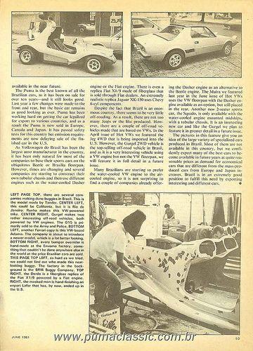 Revista HotVWs - Junho/1981 - 05   Reportagens Gurgel em Rev…   Flickr