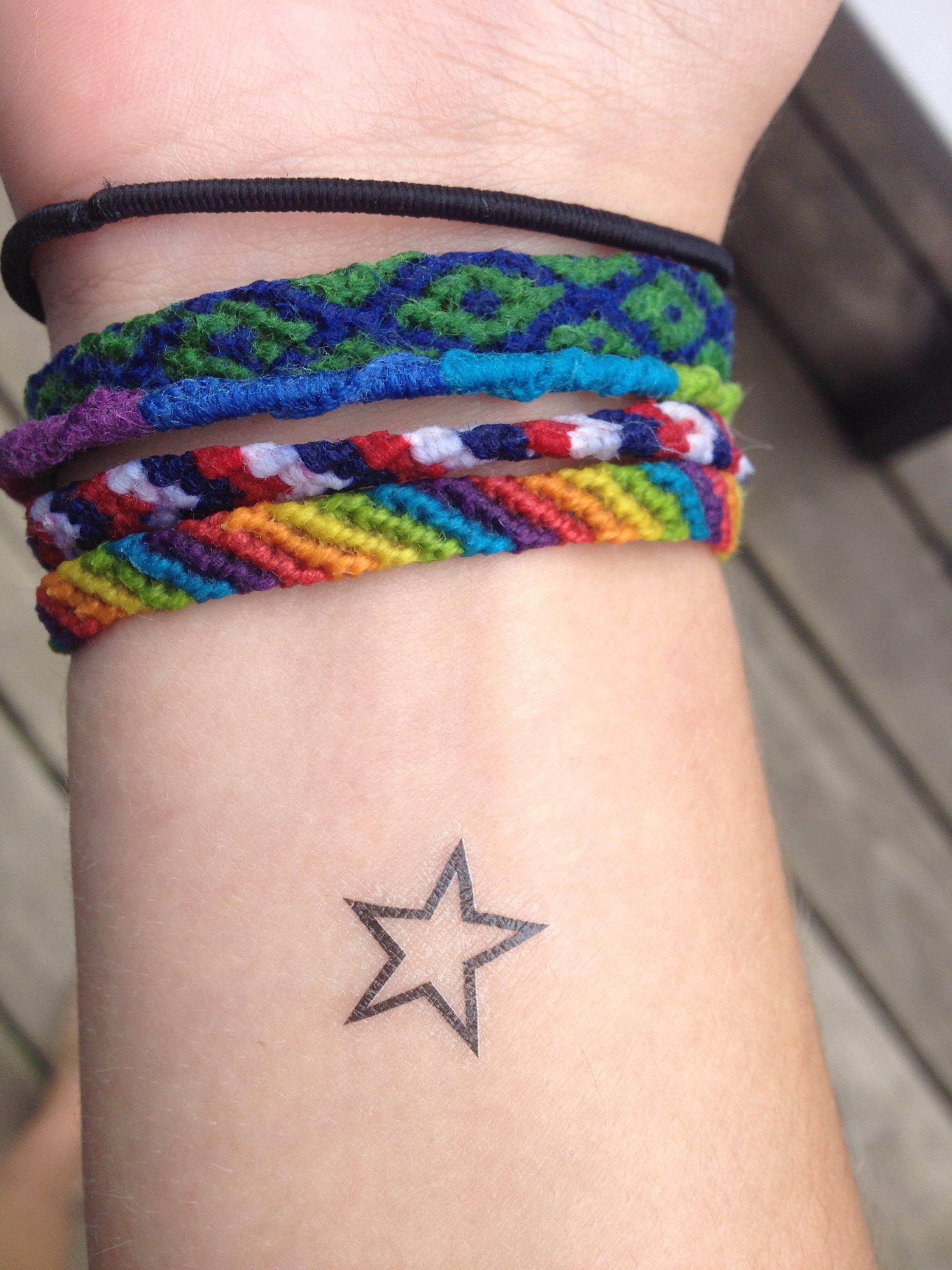 Star wrist tattoo Star tattoo on wrist, Wrist tattoos