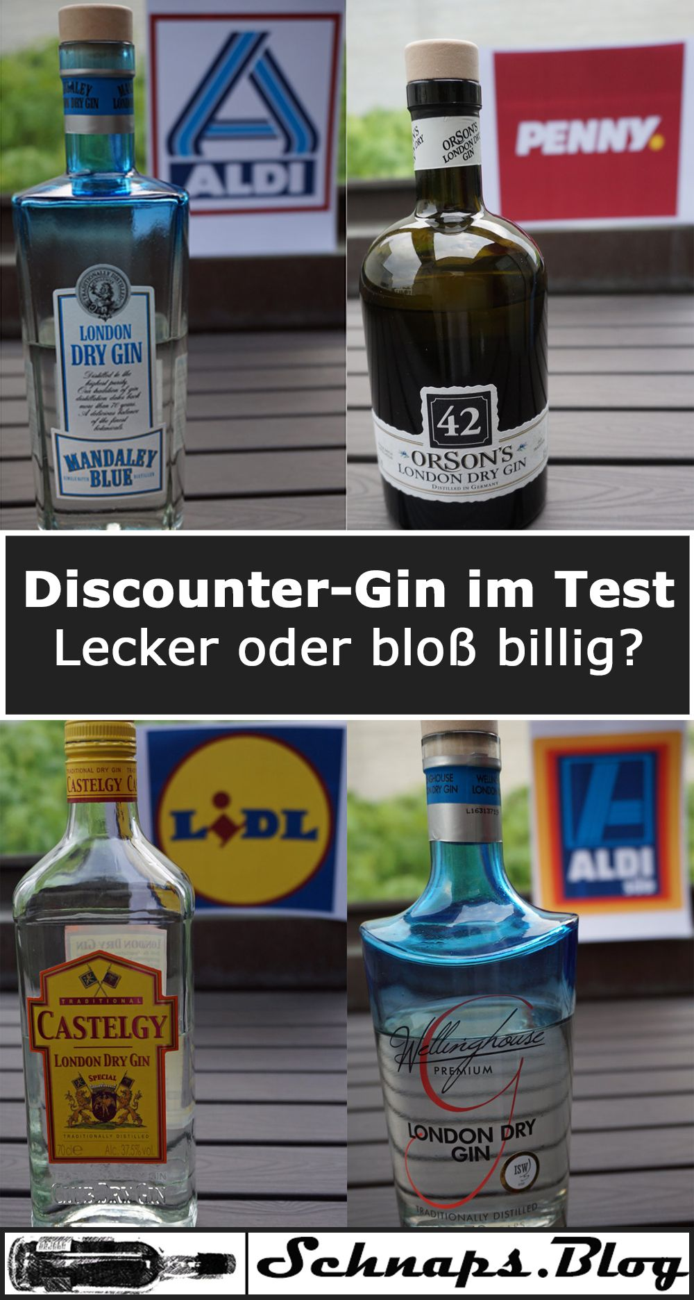discounter gins im test aldi lidl penny und netto lecker oder billig meine artikel von. Black Bedroom Furniture Sets. Home Design Ideas