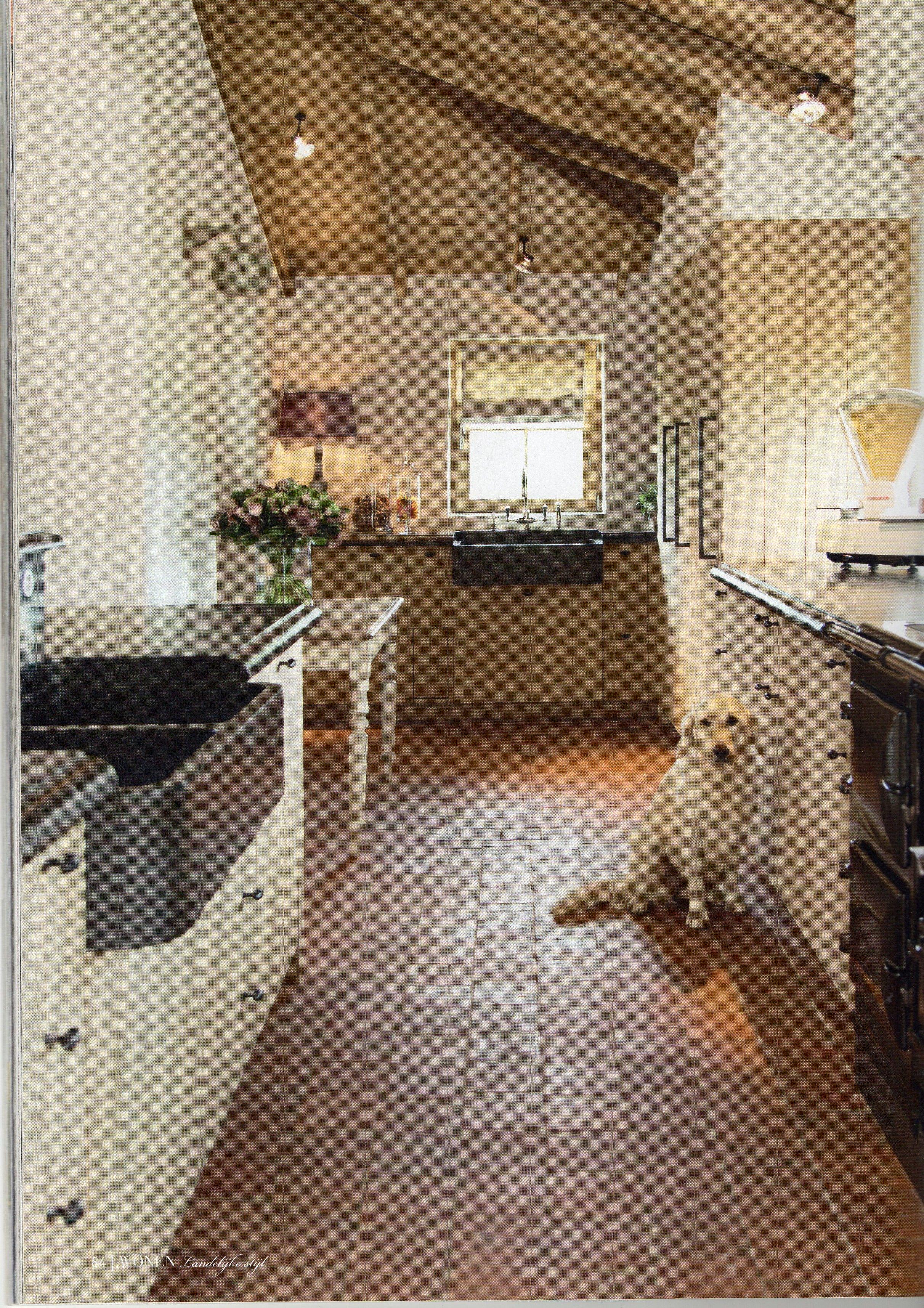 Plafond cuisine en 2019 cuisine campagne d co maison et amenagement cuisine - Plafond maison ...