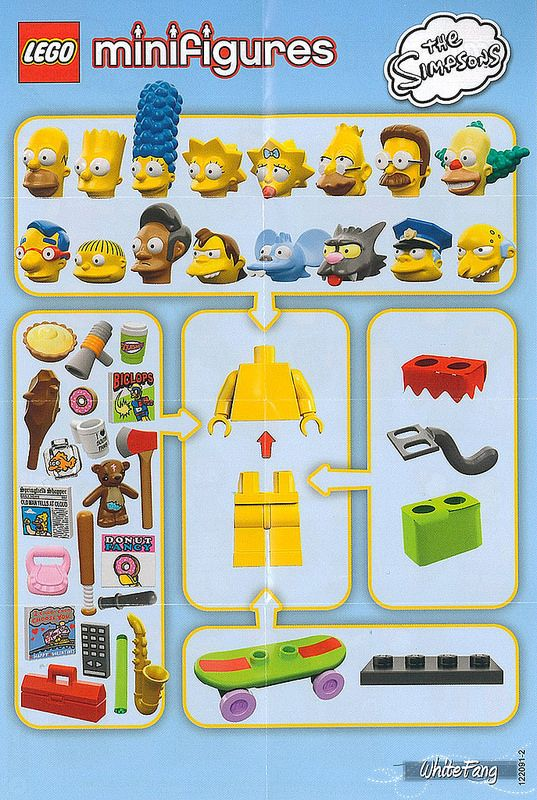 The Simpsons Legos Review 71005 Lego Minifigures The