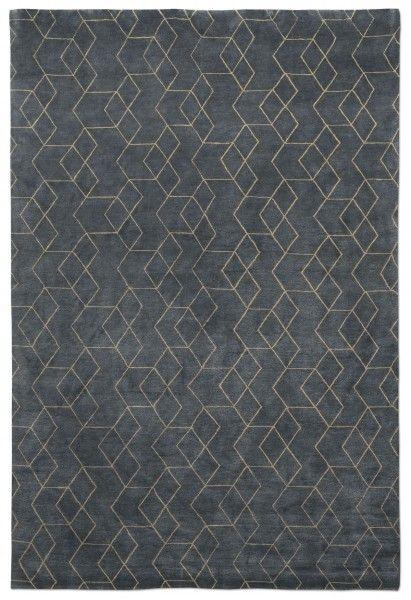 Luke Irvin Rug Hex Blue Textiles Textures Patterns