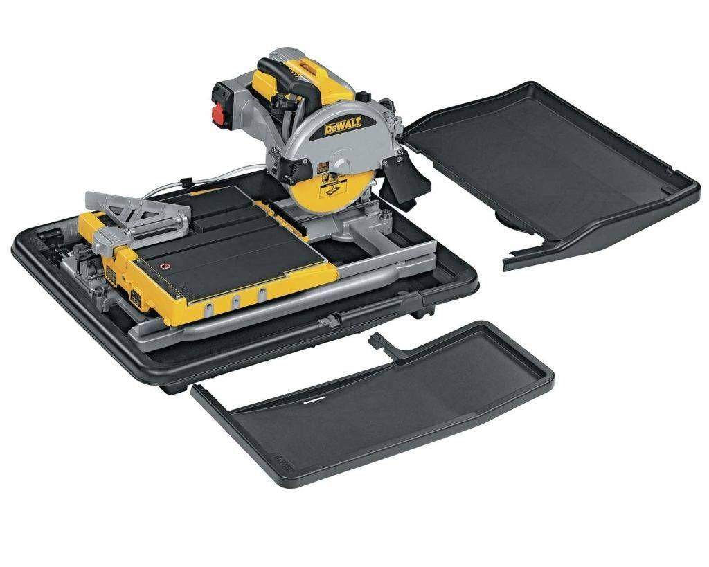 Dewalt D24000s Heavy Duty 10 Inch Tile Saw Review In 2020 Dewalt Tools Tile Saw Dewalt