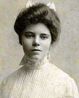 Alice Stokes Paul - In honor of International Women's Day coming up this Thursday (March 8).  Why don't more people know this face, this name?