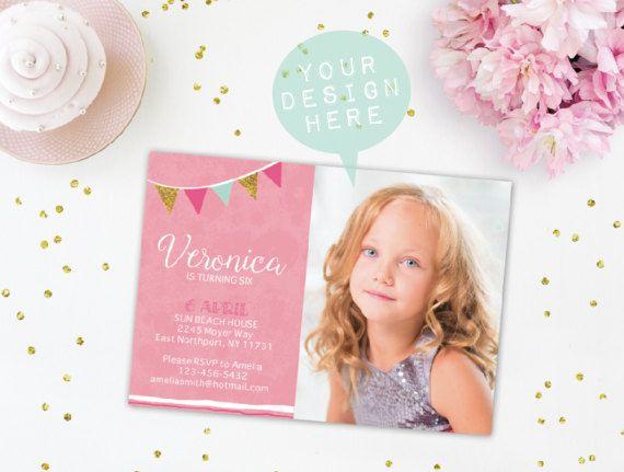 Invitation Mock Up Card Mock Up Birthday Card By