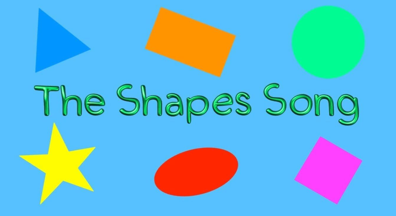 The Shapes Song (children's Song For Learning Basic Shapes