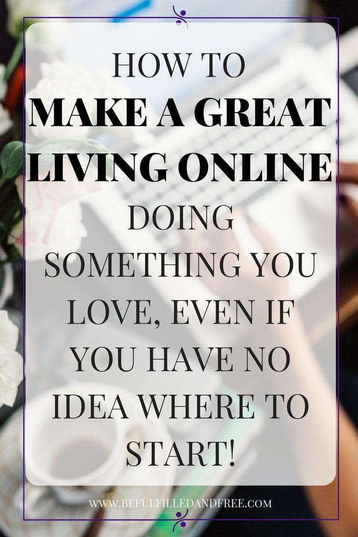 Make Money Online Start An Online Business Work From Home ...