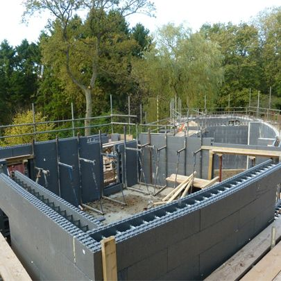 Insulating concrete formwork icf wall system iso conc for Icf concrete roof