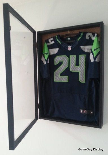 76ec092c0 JERSEY Display Case Frame Shadow Box Football by DisplayToday ...
