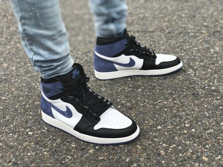 Air Jordan 1 Retro High Og Blue Moon With Images Hype Shoes