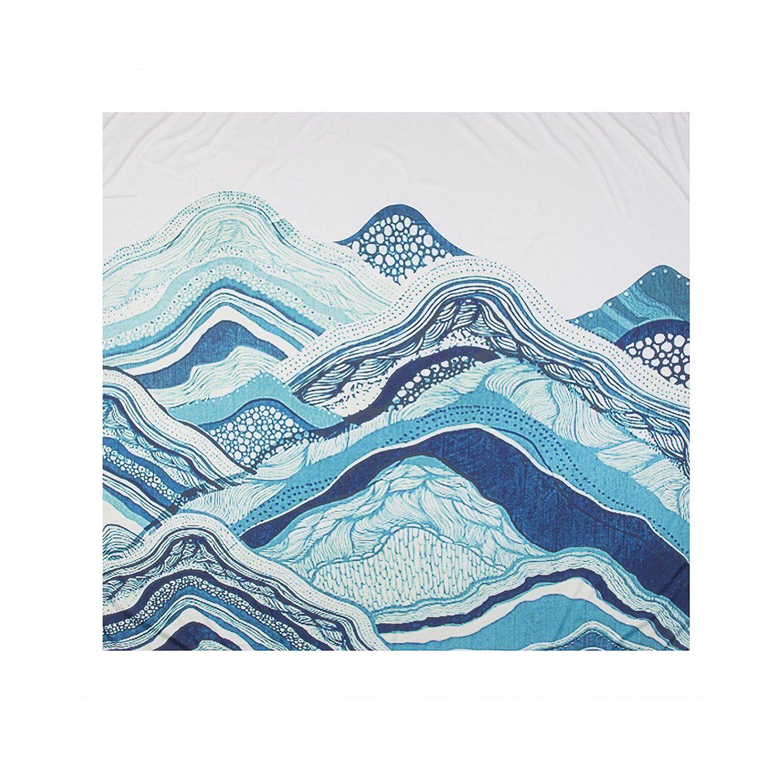 Amazon.com: Hippie tapestries Mountain Bohemian Tapestry Wall ...