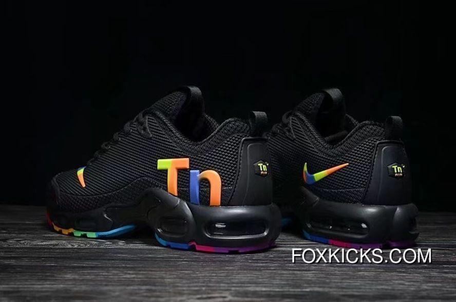 separation shoes c5e6e 3cb64 Black Multi-Color Nike Air Max Tn Nanotechnology Plastic ...