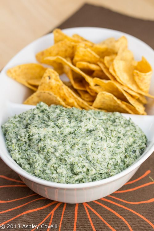 Kale Ricotta Dip--a sneaky way of getting this superfood into diet!