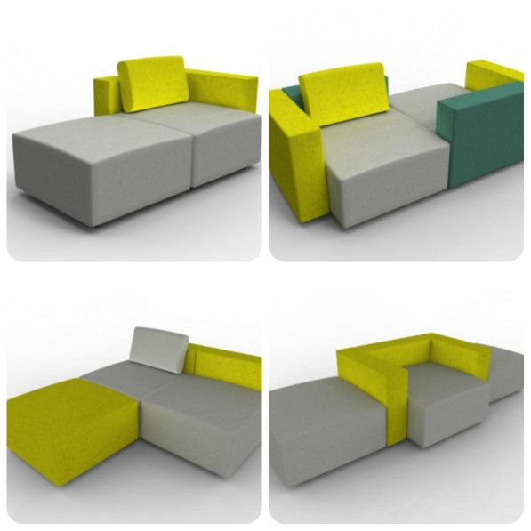 Design Bank En Fauteuil.Modulaire Bank Moduplus Bank Design En Fauteuil