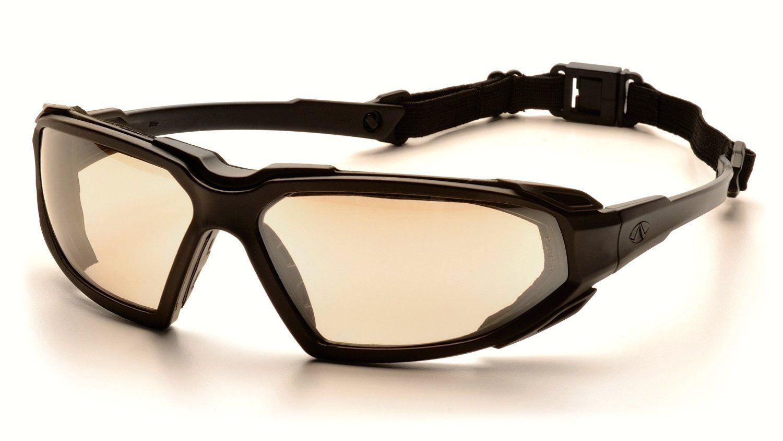 Pyramex Highlander Safety Eyewear, Black