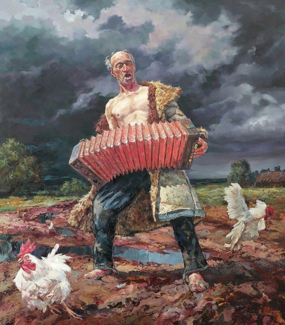 Уроки живописи с Олегом Буйко.   Вызывающее искусство ...
