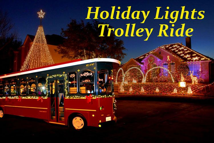 Holiday Lights Trolley Ride Big D Fun ToursBig D Fun