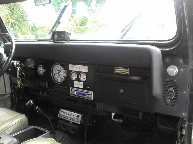 Jeep Yj Dash Conversion My Jeeps Jeep Yj Jeep Interiors Jeep