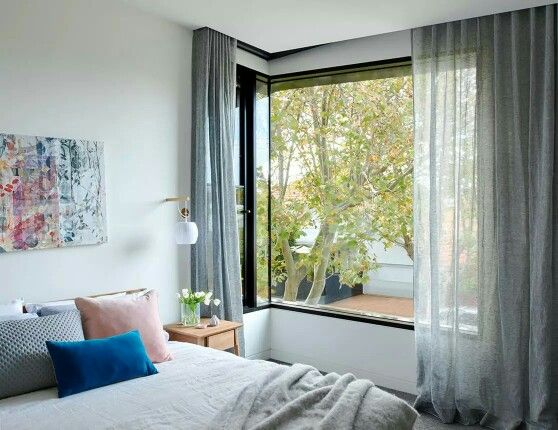 Recess For Curtains Home Baroom In 2019 Bedroom Window