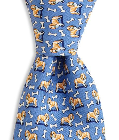 Tie Funny Neckties Cavalier King Charles Spaniel Floral Dog Fashion Wide Novelty Neck Ties For Men teen