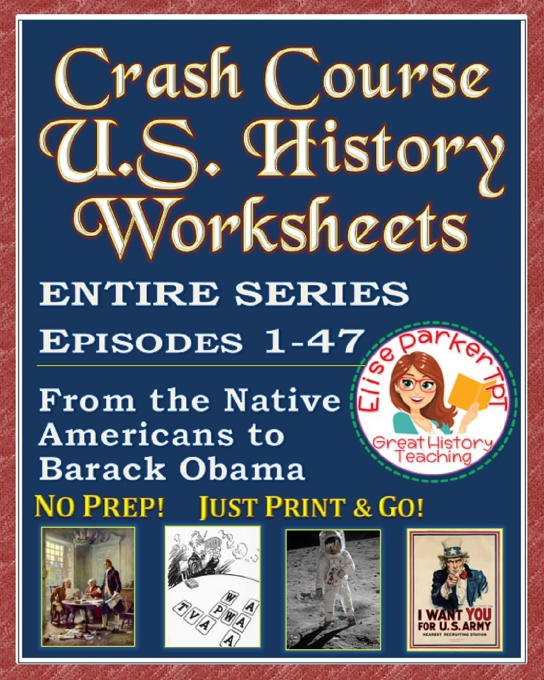 Pin On Crash Course U S History Worksheets