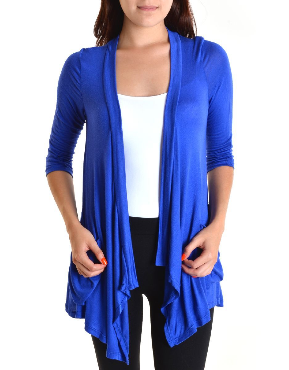 Bright blue cardigan | Wardrobe redesign | Pinterest | Cardigans ...