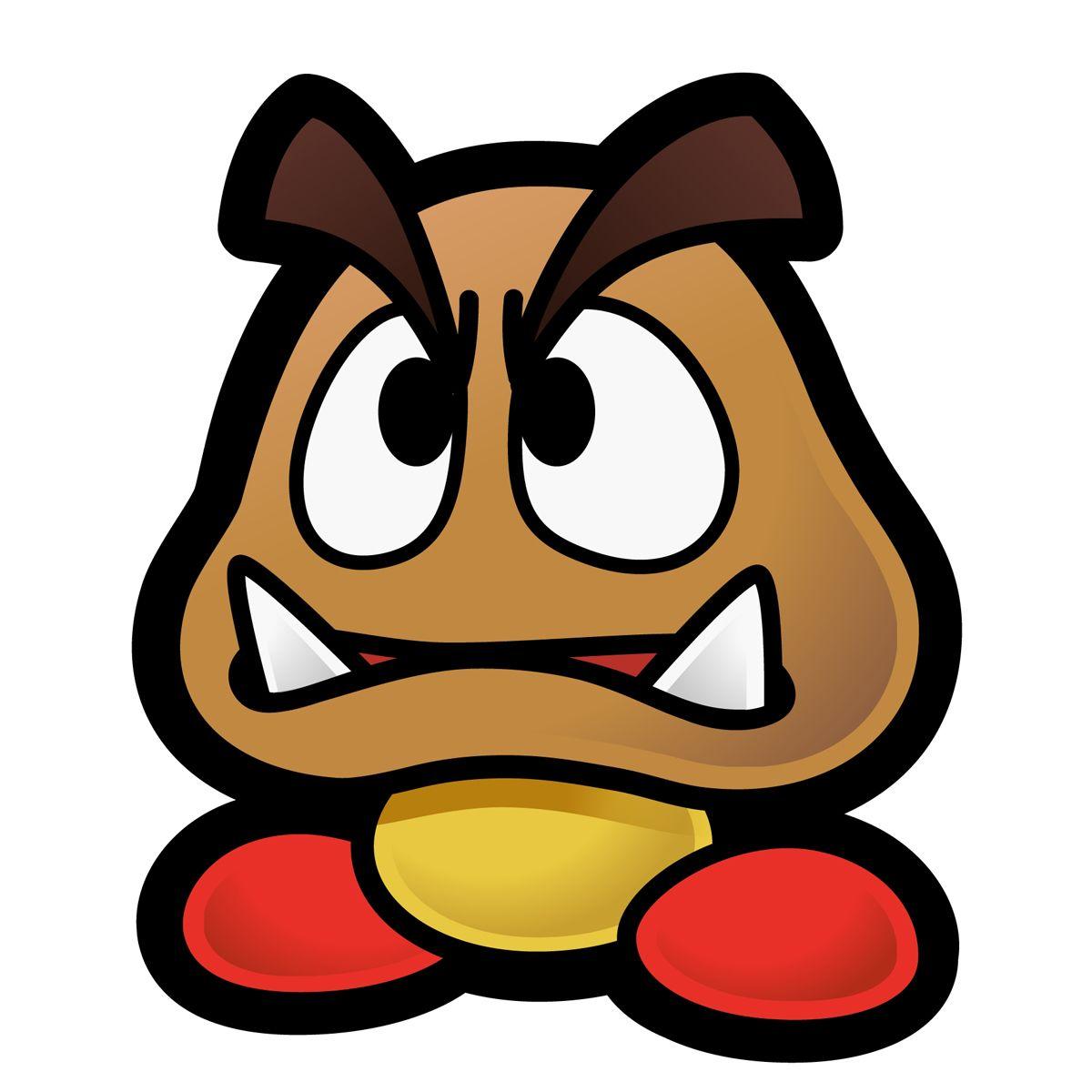 Goomba Paper Mario | Proyectos que intentar | Pinterest | Decoracion ...
