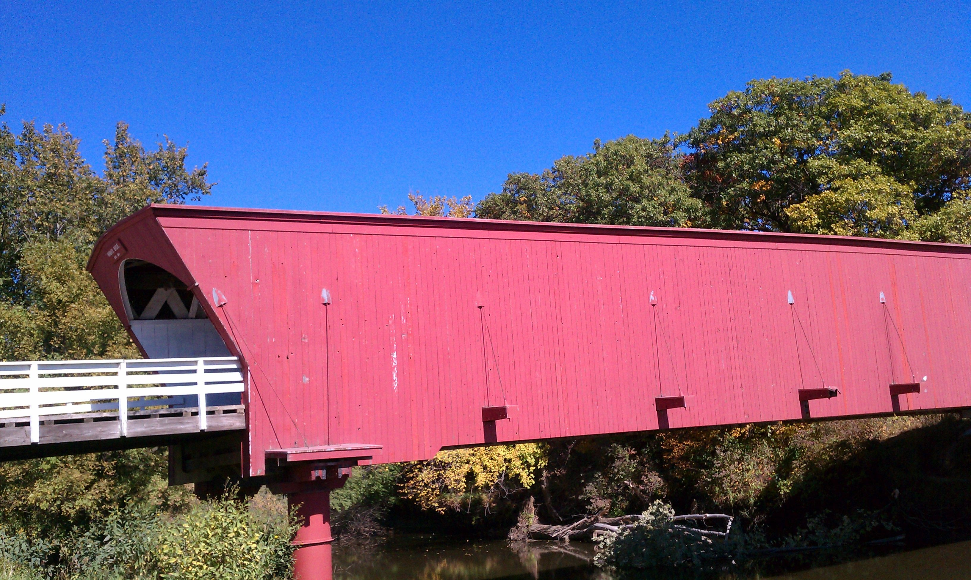 Hogback Covered Bridge One Of The 6 Covered Bridges In Madison