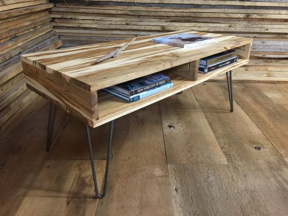 QUICK SHIP-Boxer mid century modern coffee table by scottcassin