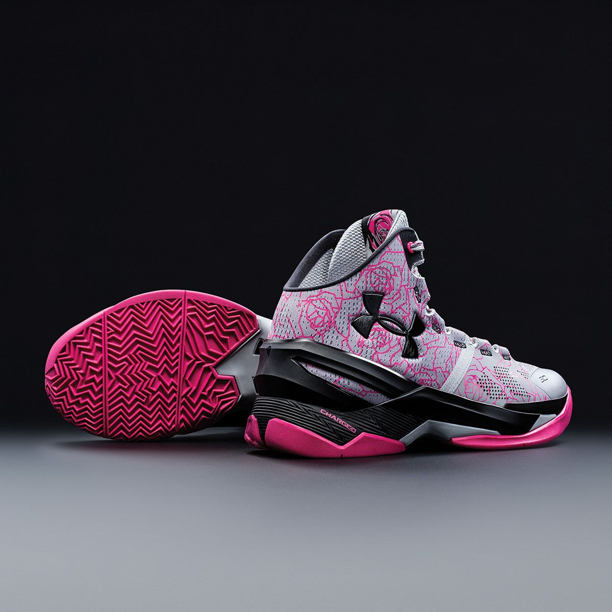 a344353bf615 Pay homage to your mommas — grab this Under Armour Curry 2  Mother s Day   shoe.