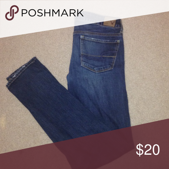 American Eagle Jeans Bottoms are worn but in overall good condition American Eagle Outfitters Jeans Skinny