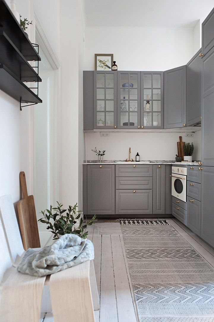 kitchen bedroom and workspace in one grey kitchen floor grey kitchens gray white kitchen on kitchen decor grey cabinets id=49243