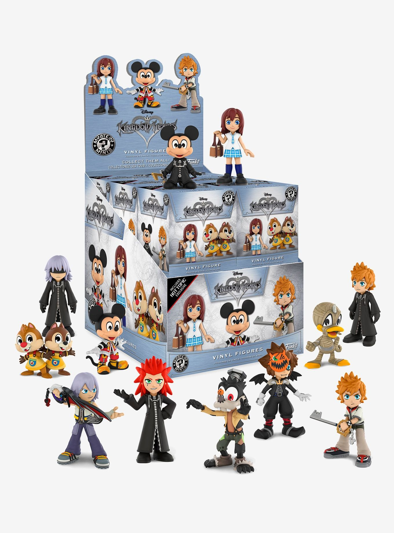 Funko Disney Kingdom Hearts Mystery Minis Blind Box Figure Hot Topic Exclusive Funko Mystery Minis Mystery Minis Disney Kingdom Hearts