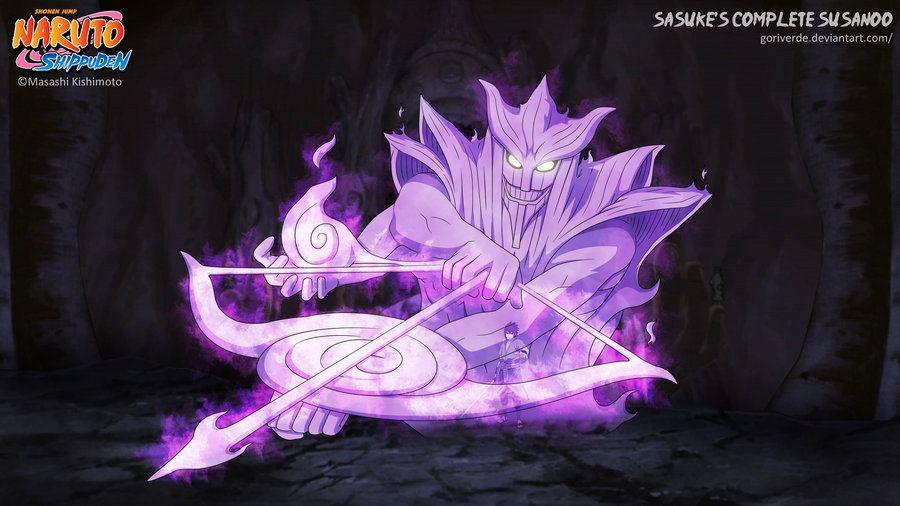 Sasuke's Complete Susanoo By Goriverde