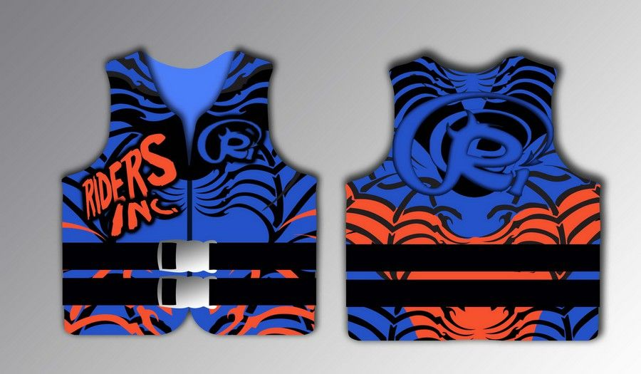 Design the next boys water ski jacket for Riders Inc by sanjaanja