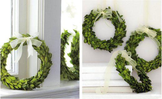 Perfect green wreath