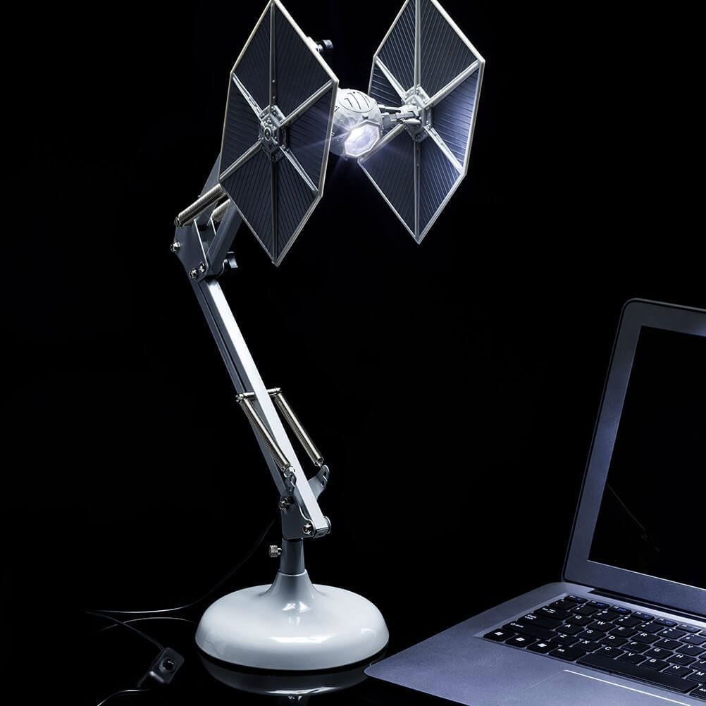Official Star Wars Tie Fighter Posable Desk Lamp Starwars Starwarslamp Desklamp Tiefighter Starwarsgifts Anglepoise Lamp Tie Fighter