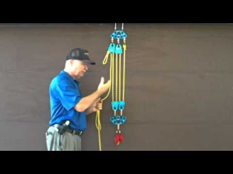 how to build an upward moving pulley