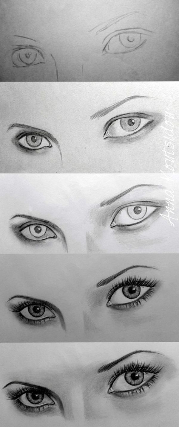 To Draw An EYE - 40 Amazing Tutorials And Examples how-to-draw-an-eye4how-to-draw-an-eye4