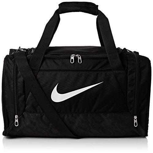 8383305b7051 Nike Brasilia 6 Duffel Bag Black White Size Medium - http   www ...
