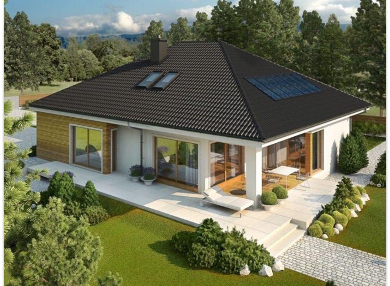 Pin de g lden zk k en ev pinterest casas casas for Planos de casas de campo modernas