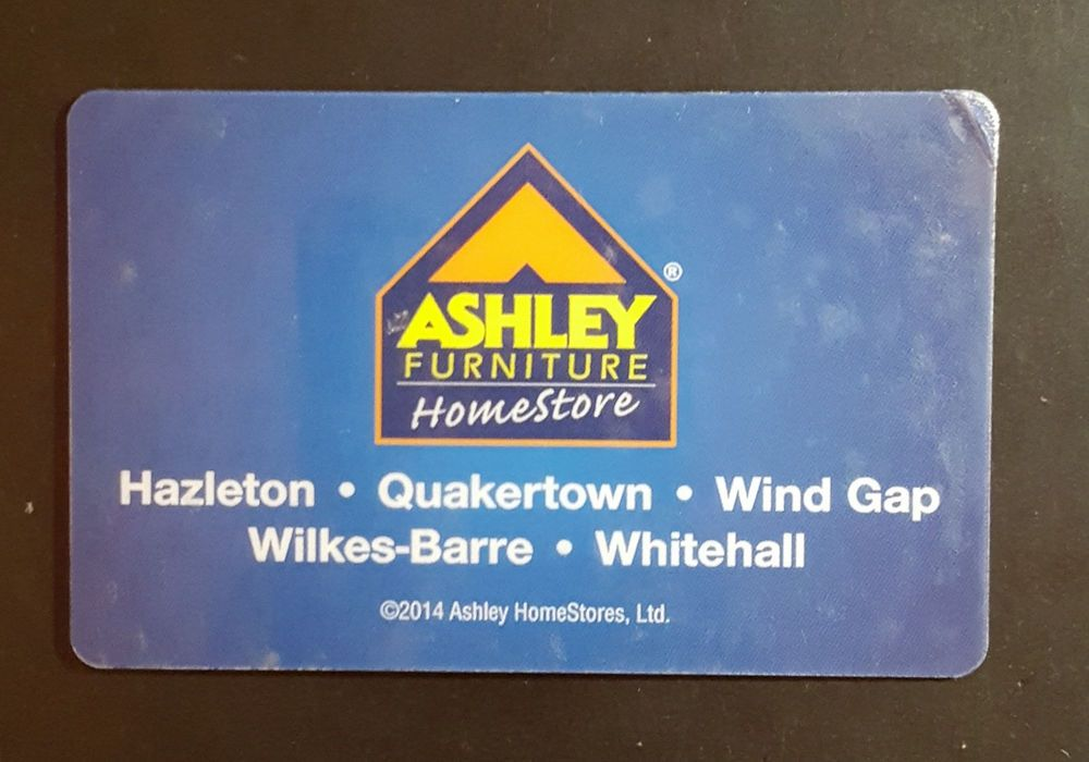 Ashley Furniture Homestore Gift Card 400 00 Good Till 2018 Gift Card Gifts Cards