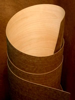 Polyback Or Phenolic Flexible Veneer Sheet Available In All Domestic And  Exotic Wood Species.