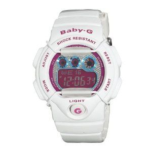 9420fa2ac47c Casio Women s BG1005M-7 Baby-G Multi-Function Digital White Watch Casio.   67.90. White guard designed to protect the dial. Alarm  Light  Calendar.