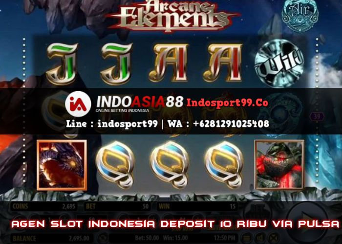 Agen Slot Indonesia Deposit 10 Ribu Via Pulsa Joker Uang Mainan