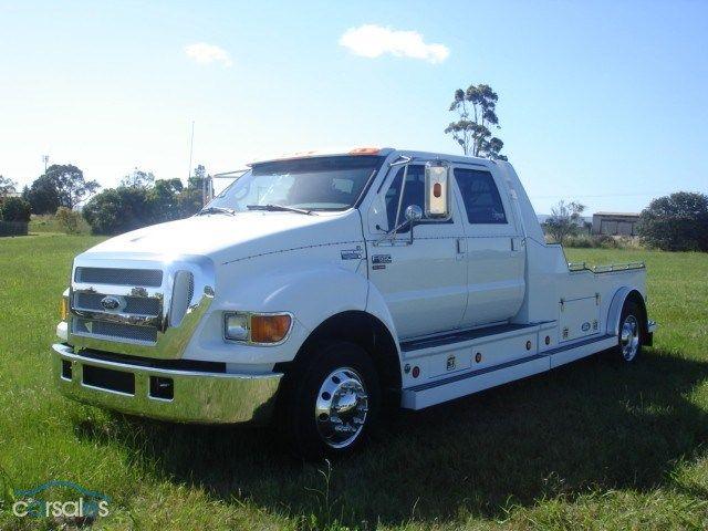 2009 Ford F650 Ford Work Trucks Big Trucks Muscle Truck