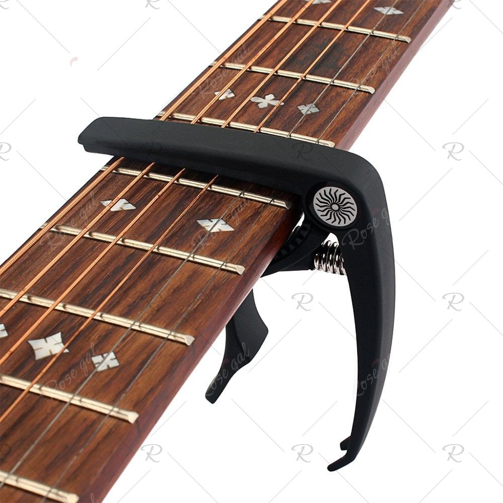 Electric Acoustic Guitar Capo With Bridge Pin Remover Acoustic Guitar Capo Acoustic Electric Guitar Guitar Capo