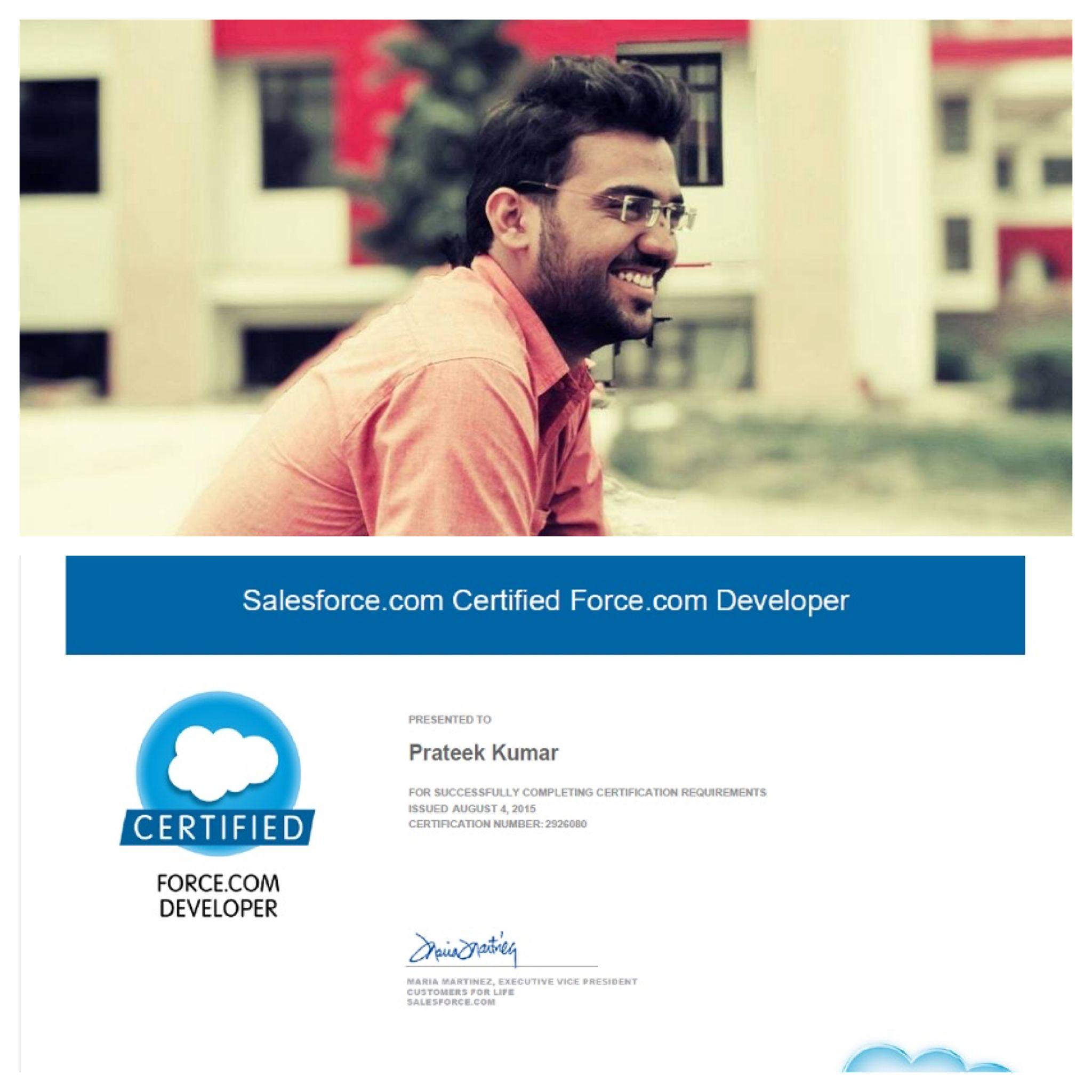 Salesforce Certified Force Developer From Bodacious It Hub