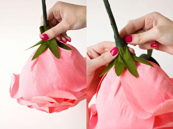 DIY-Rosa de Sant Jordi de papel_14